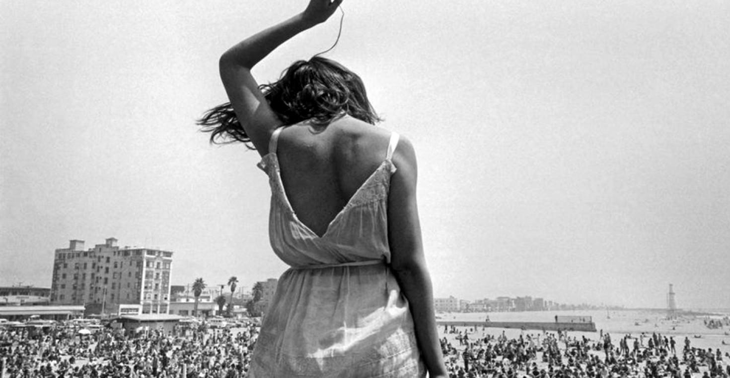USA. California. 1968. Venice Beach Rock Festival.
