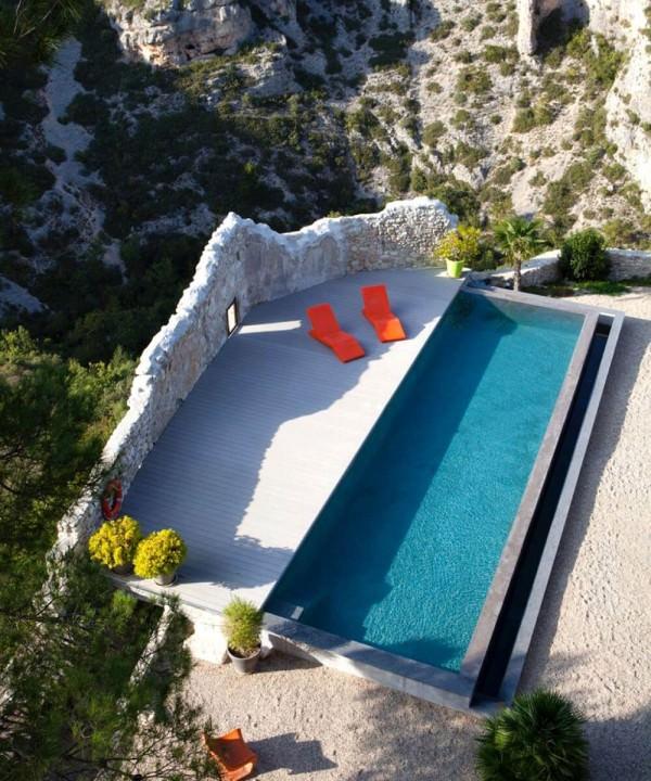 Maison d'hôtes design Metafort en Loberont