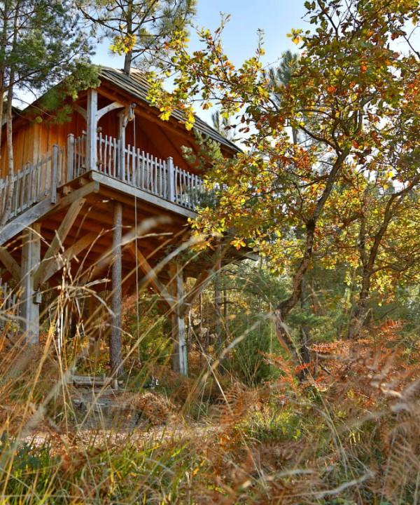 Chambres d 39 h tes insolites cabanes et b b chics dans le - Chambre d hote cabane dans les arbres ...