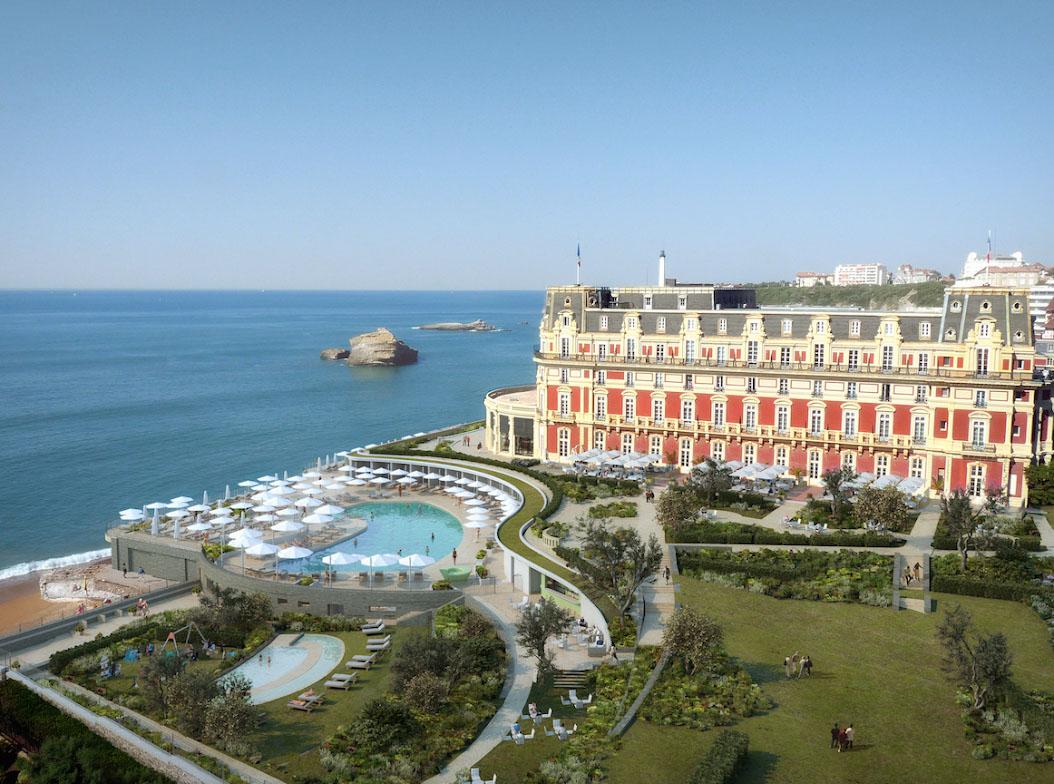 H tel du palais biarritz le palace de la c te atlantique - Prix chambre hotel du palais biarritz ...