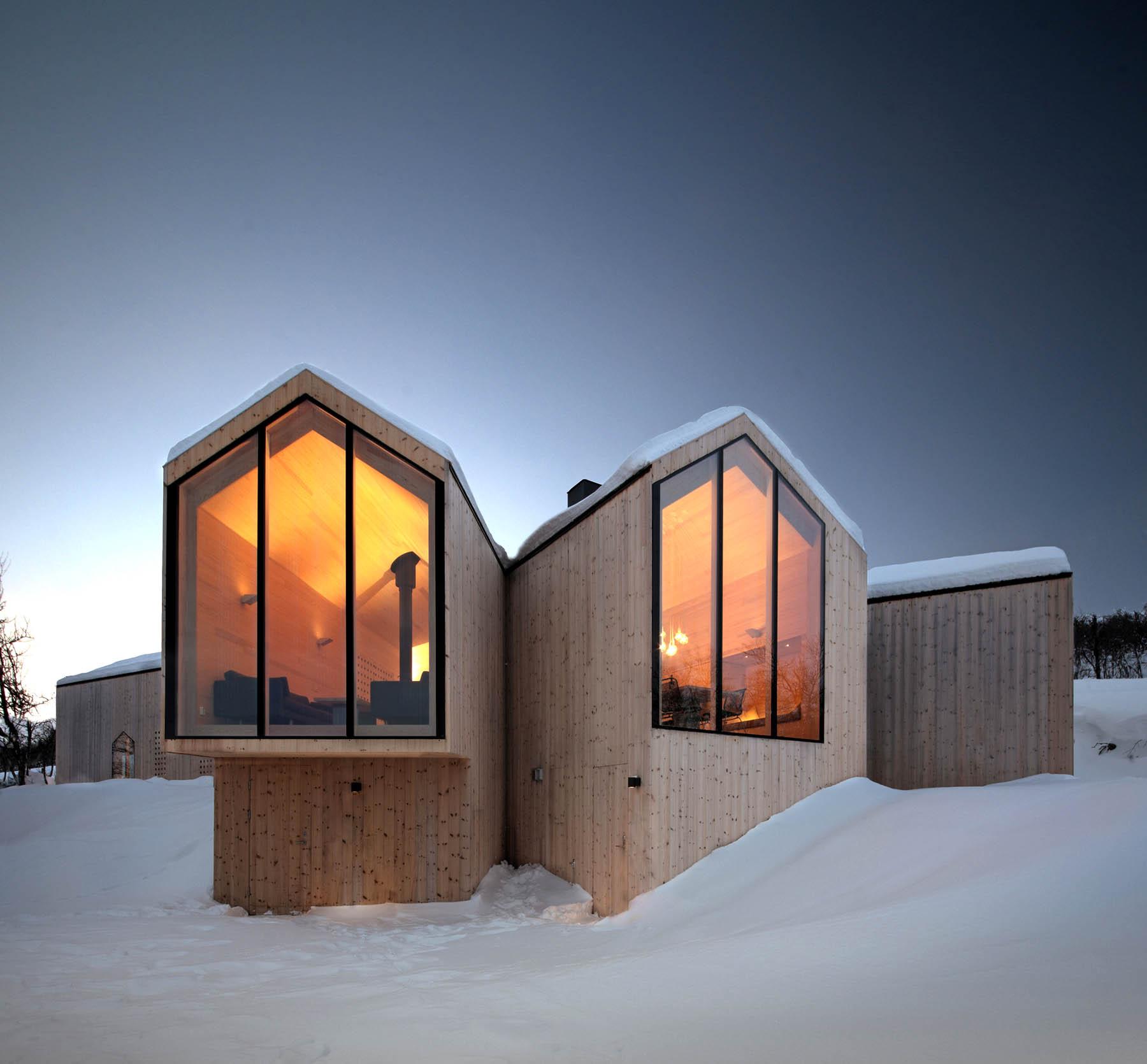 Chalet Design De Luxe A La Montagne Reiulf Ramstad Arkitekte