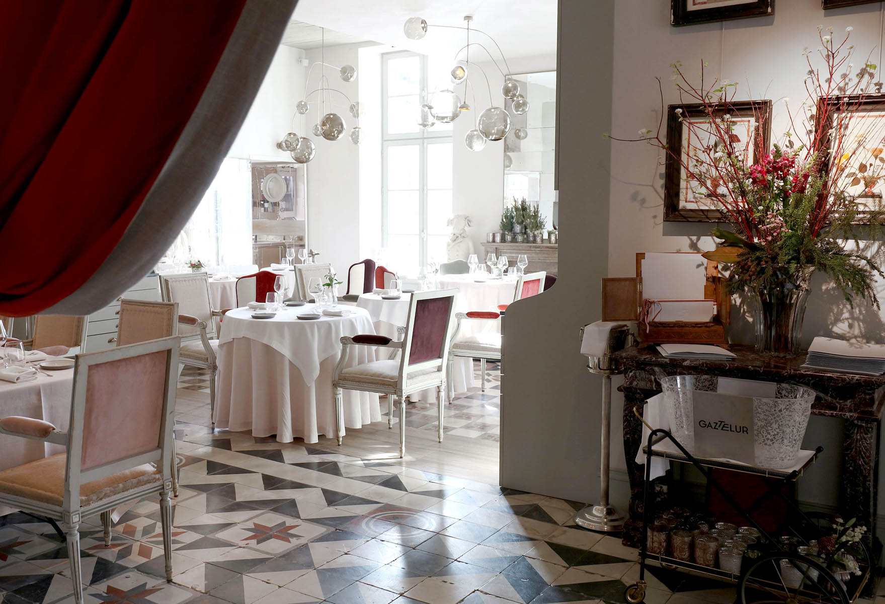 L 39 atelier de gaztelur restaurant gastronomique arcangues for Chambre de l assurance