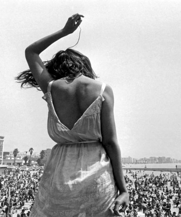 USA. California. 1968. Venice Beach Rock Festival.