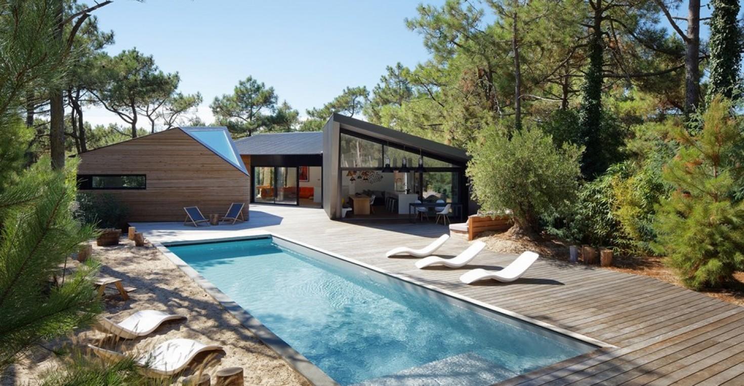 Maison design au Cap Ferret