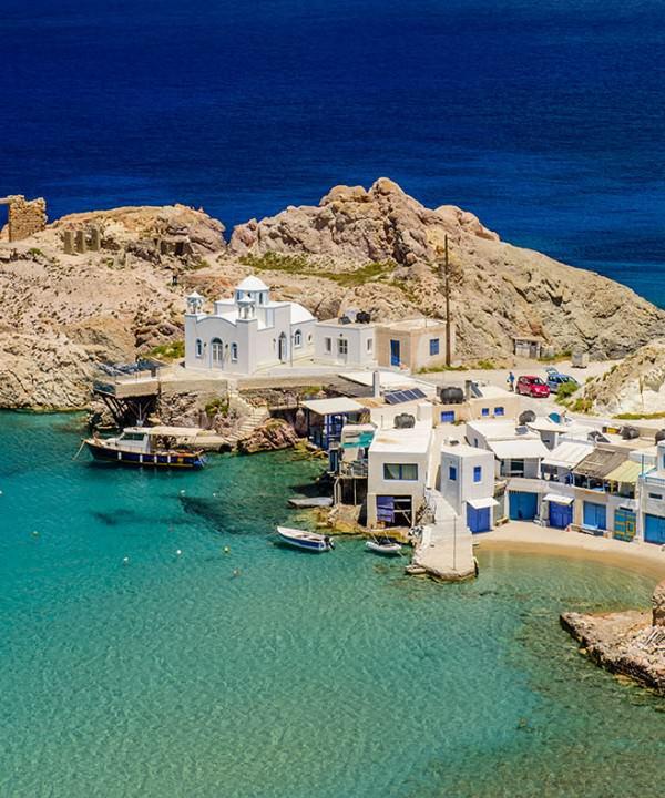 milos iles grecques