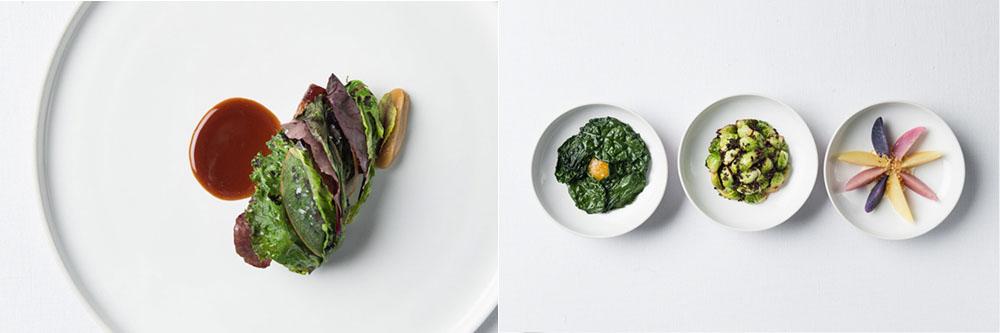 Veau et légumes de saison.