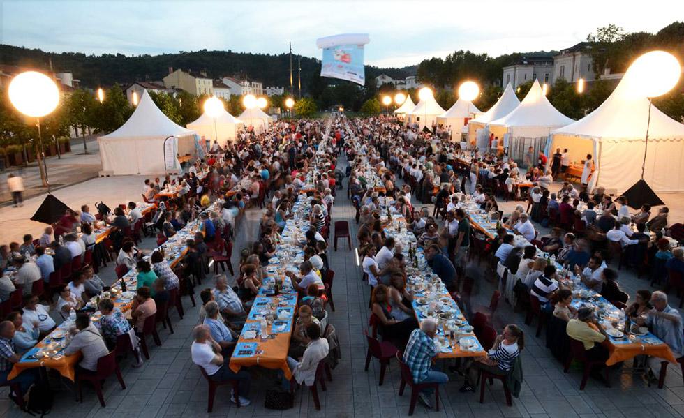 Le grand banquet de Lot Of Saveurs - Photo Lot Tourisme