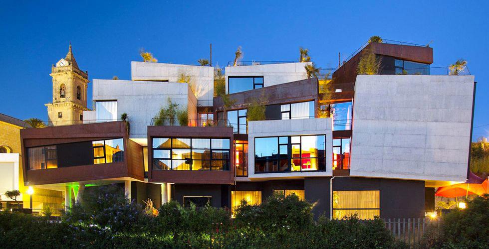 Hôtel design Viura à Villabuena de Alava