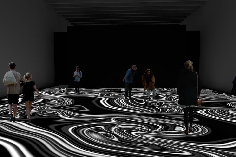Miguel Chevalier, Pixels Noir Lumière