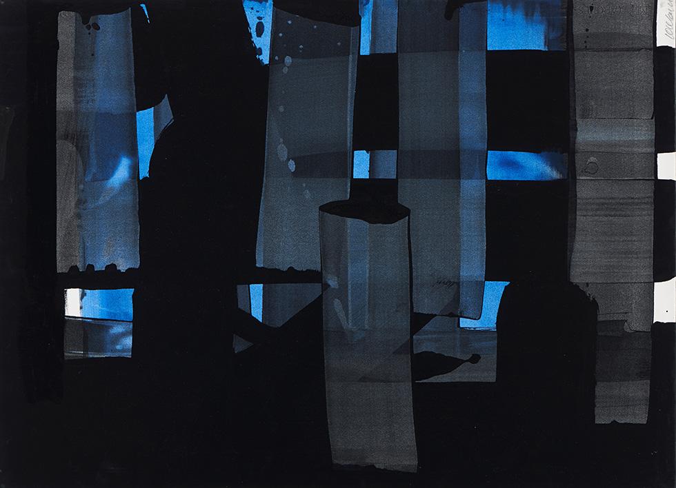© Gouache sur papier – 75,1 x 54.6 cm, 1973