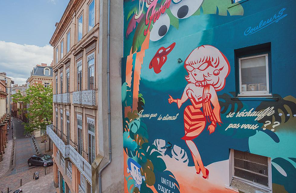 Mademoiselle Kat - Rue Sainte Ursule à Toulouse