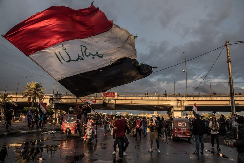 Emilienne Malfatto, Irak cent jours de thawra - Visa pour l'Image 2020.