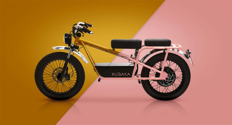 Xubaka, la moto électrique de Sodium Cycles au Pays Basque.